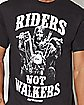 Riders Not Walkers The Walking Dead T Shirt