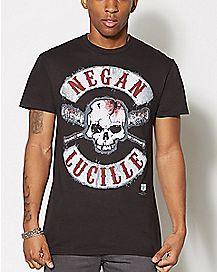 Negan Lucille T Shirt - The Walking Dead