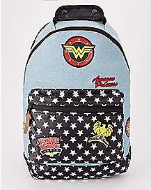 Denim Wonder Woman Backpack - DC Comics