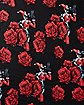 Harley Quinn Roses Infinity Scarf - DC Comics