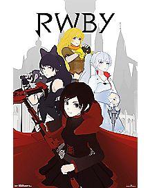 Team RWBY Poster - RWBY