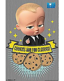Cookies Are For Closers Poster - Boss Baby
