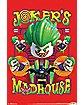 Joker's Madhouse Poster - Lego Batman