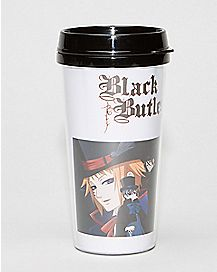Black Butler Travel Mug - 16 oz
