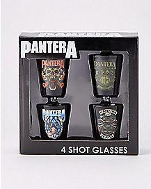 Pantera Shot Glasses - 4 Pack