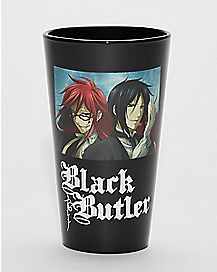 Black Butler Pint Glass - 16 oz