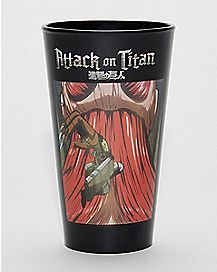 Eren Pint Glass 16 oz - Attack on Titan