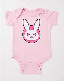 Nerf This D.Va Bunny Baby Bodysuit - Overwatch
