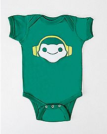 Let's Drop The Beat Lucio Baby Bodysuit