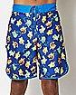 Character Pokemon Board Shorts