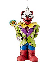 Bad Clown Christmas Ornament