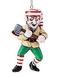 Creepy Elf Christmas Ornament
