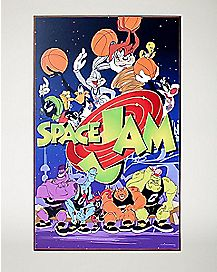 Space Jam Wall Art
