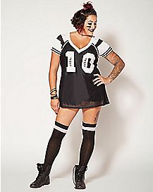 Adult Football Player Plus Size Costume