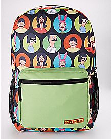 Belcher Family Circle Backpack - Bob's Burgers