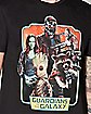 Group Frame T Shirt - Guardians of the Galaxy