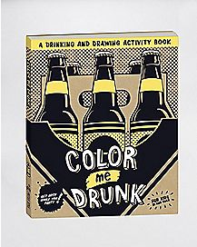 Color Me Drunk Coloring Book