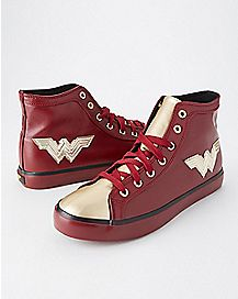 High Top Wonder Woman Sneakers