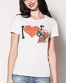 I Heart Hoff T Shirt- Baywatch