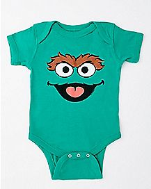Oscar the Grouch Bodysuit - Sesame Street