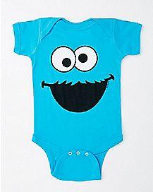 Cookie Monster Baby Bodysuit - Sesame Street
