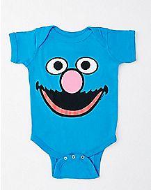 Grover Baby Bodysuit - Sesame Street