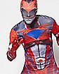Adult Red Ranger Skin Suit Costume - Power Rangers
