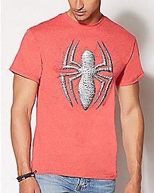 Spider Web Spider-Man T Shirt - Marvel Comics