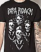 Skeleton Papa Roach T Shirt
