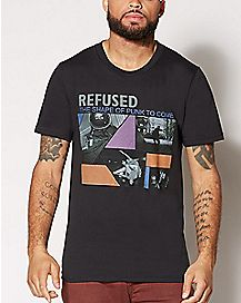 The Shape of Punk To Come Refused T Shirt