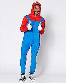 Mario Pajama Costume - Nintendo