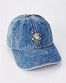 Denim Rocko's Modern Life Dad Hat - Nickelodeon