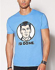 I'd Do Me Archer T Shirt