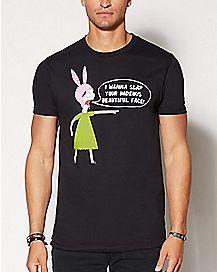 I Wanna Slap Your Face Louise Belcher T Shirt - Bob's Burgers