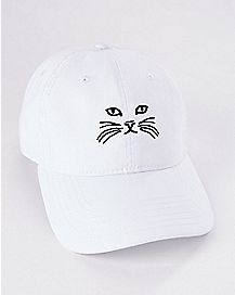Cat Face Dad Hat