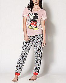 Moody Mickey Mouse Pajamas - Disney