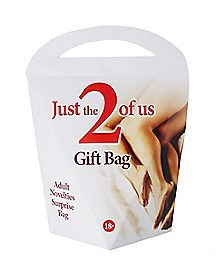 Just The 2 Of Us Surprise Bag