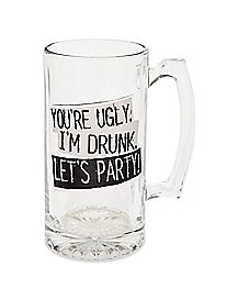 Let's Party Beer Mug - 25 oz.