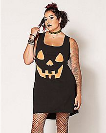Plus Size Pumpkin Dress