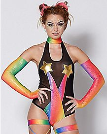 Rainbow Bodysuit Set