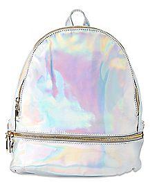 Hologram Alien Mini Backpack