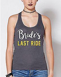 Bride's Last Ride Tank Top