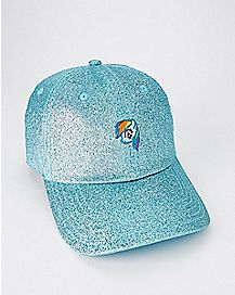 Glitter Rainbow Dash Dad Hat - My Little Pony