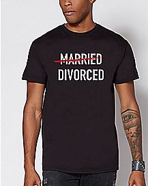 Married Divorced T Shirt