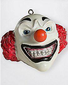 Clown Head Christmas Ornament