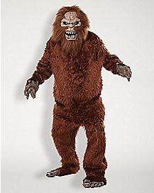 Adult Animotion Sasquatch Costume - Deluxe