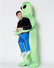 Adult Alien Pick Me Up Inflatable Costume