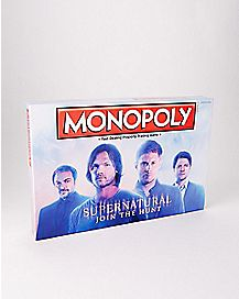 Supernatural Monopoly Collector's Edition