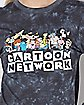 Cropped Tie Dye Cartoon Network T Shirt