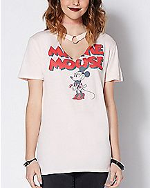 Choker Minnie Mouse T Shirt - Disney
